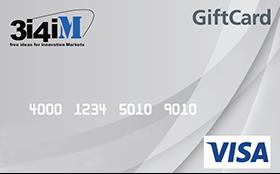 """Gift Prepagata da """"€ 150,00""""  VISA"""